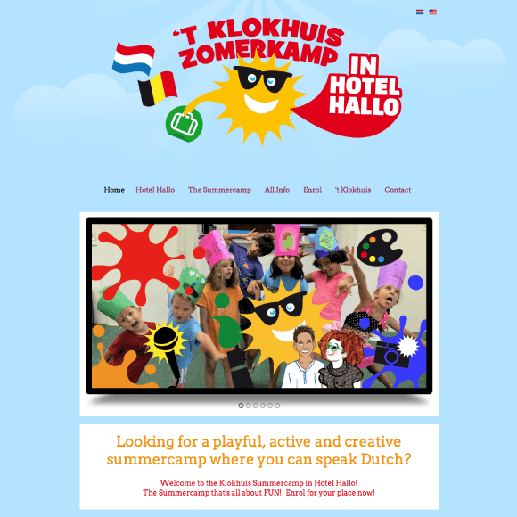 Dutch Summercamp website