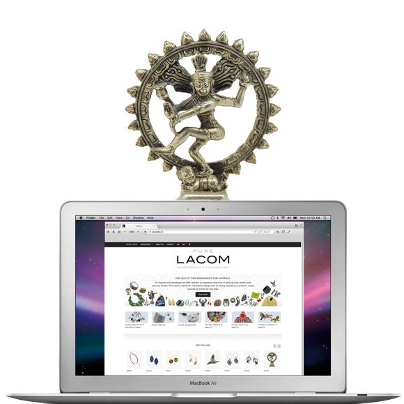 Lacombv.nl Lacom-gems.be website - Jewelry importer and wholesaler