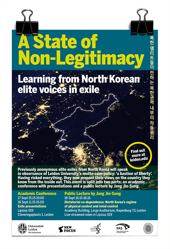 Leiden University - A State of Non-legitimacy: Learning from North Korean Voices in Exile