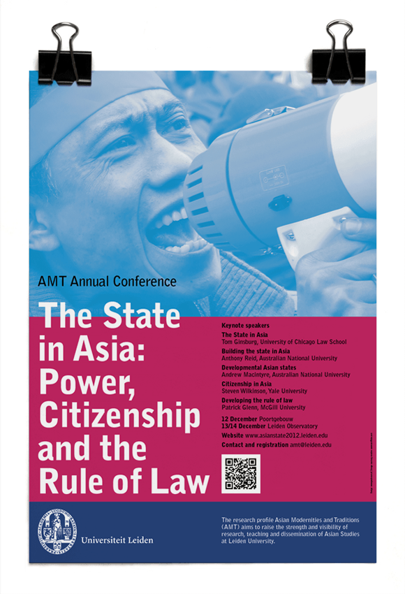 AMT Annual Conference - The state of Asia: Power, citizenship and the rule of law - Leiden University